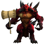 Diablo with his Ban Hammer after Season 9 Banwave