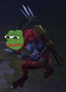 The group led by the Pull Barb needs to skip mobs, this sometimes FeelsBadMan for Diablo 3 @ Troupster.com