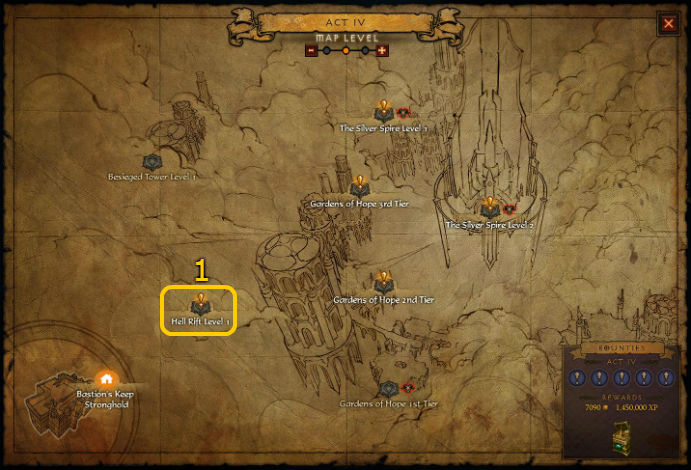 Act 4 Pool Locations for Diablo 3 @ Troupster.com