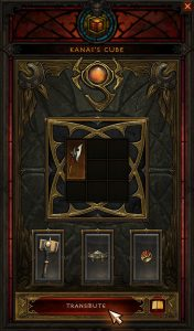 Transmuting a Bovine Bardiche aka Cow Stick in Kanai's Cube will open a rift to Cow Level guaranteeing 2 Experience Pools in Diablo 3 @ Troupster.com
